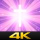 Worship Cross Light Rays - VideoHive Item for Sale