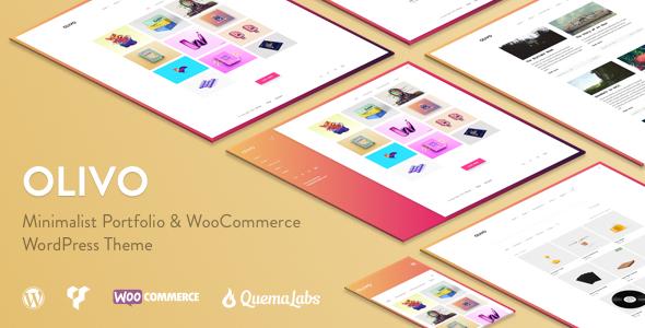 Olivo - Minimalist Portfolio & WooCommerce Theme - Creative WordPress