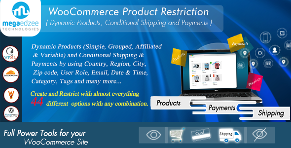 WooCommerce Product Restrictions | Dynamic Products, Conditional Shipping and Payments - CodeCanyon Item for Sale