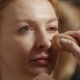 Make-up Artist Putting on a Foundation with a Little Sponge - VideoHive Item for Sale