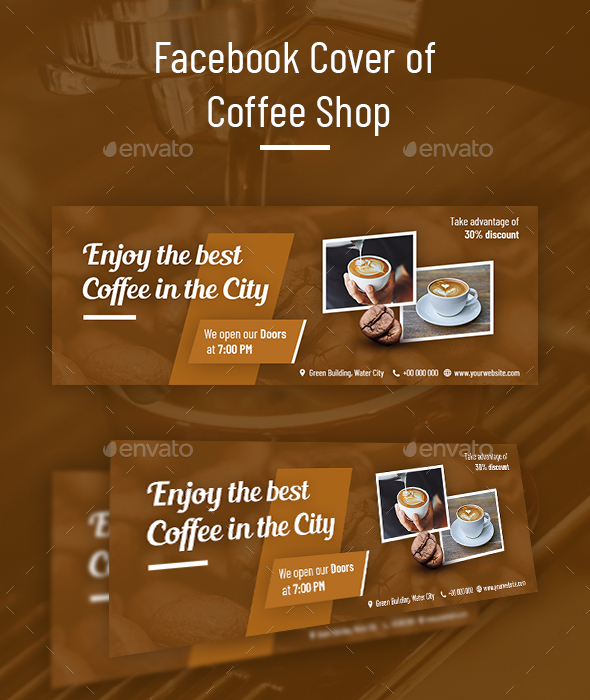 Facebook Cover of Coffee Shop - Facebook Timeline Covers Social Media