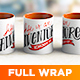 Full Wrap Mug Mockup - GraphicRiver Item for Sale