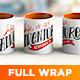 Full Wrap Mug Mockup - GraphicRiver Item for Sale