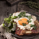 Fried egg toast rustic - PhotoDune Item for Sale