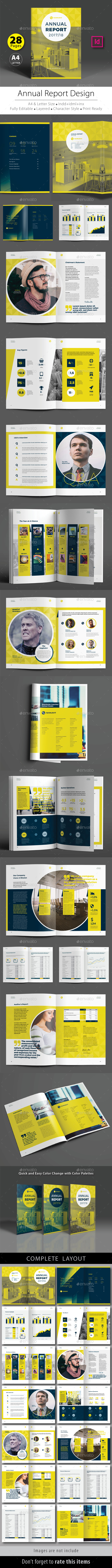 Annual Report Design Template V.8 - Corporate Brochures