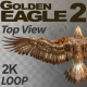 Golden Eagle-2 Top View - VideoHive Item for Sale