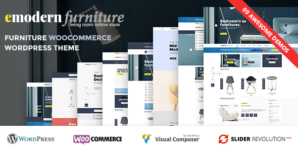 VG Emodern - Furniture Theme with 9 HomePages - WooCommerce eCommerce