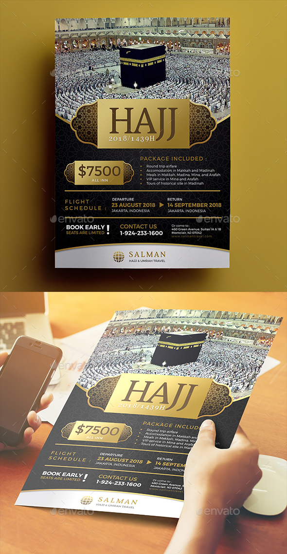 Hajj Flyer 02 - Commerce Flyers