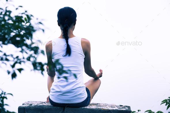 Meditation - Stock Photo - Images