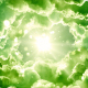 Green Fantasy Clouds - VideoHive Item for Sale