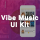 Vibe Music UI KIT