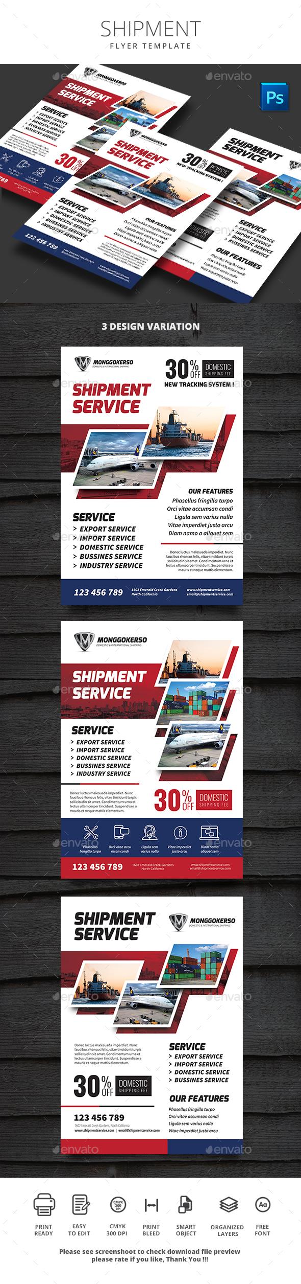 Shipment - Flyers Print Templates