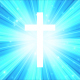 Starburst Light Rays Cross - VideoHive Item for Sale