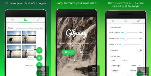 Gifeasy - An Ionic Gif Maker App - CodeCanyon Item for Sale