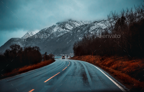 Norway road trip - Stock Photo - Images
