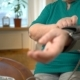 An Elderly Woman Measures Blood Pressure at Home. - VideoHive Item for Sale