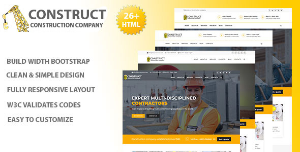 Image of Construct - Construction Company Services