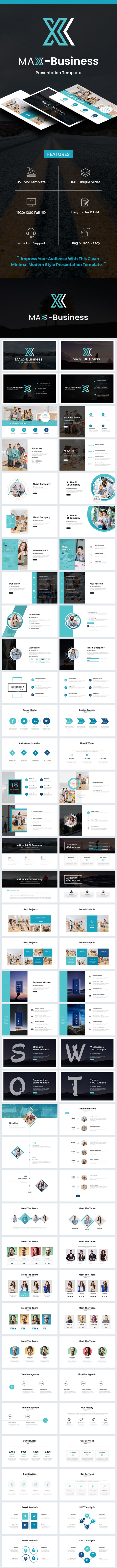 Business Powerpoint Template 2018 - PowerPoint Templates Presentation Templates