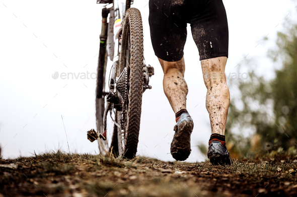 back athlete cyclist - Stock Photo - Images