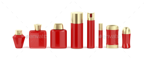 Set of cosmetic products - Stock Photo - Images