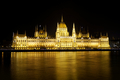 Hungarian Parliament building, night view - PhotoDune Item for Sale