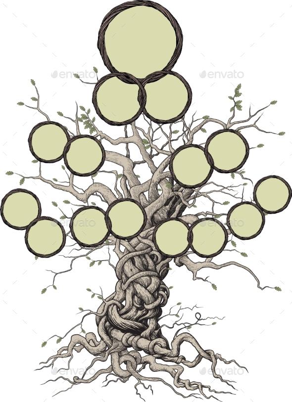 Family Tree - Miscellaneous Vectors
