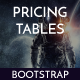 Pricing Plans Tables | Material Design, Bootstrap & Responsive | PriceT