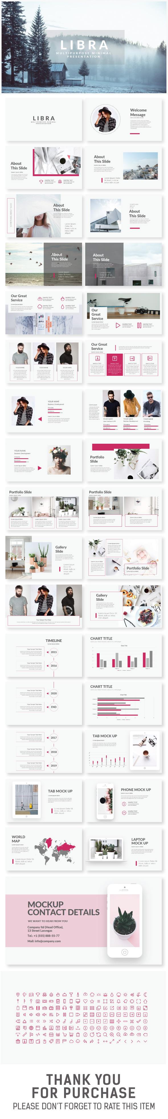 Libra Presentation Template - Creative PowerPoint Templates