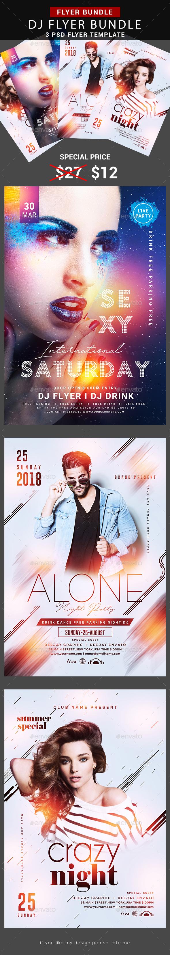 Guest DJ Flyer Bundle - Flyers Print Templates