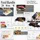 Food Bundle 3 in 1 PowerPoint Template - GraphicRiver Item for Sale