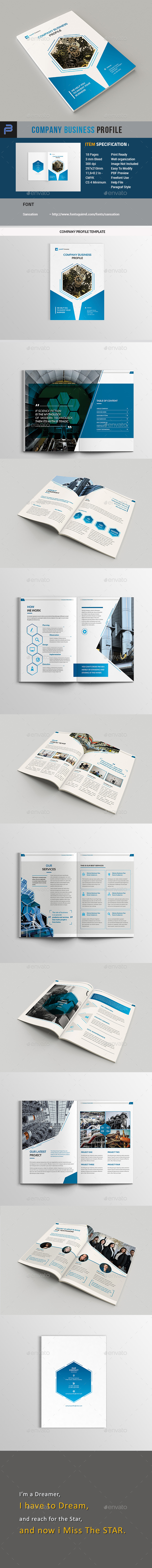 Company Business Profile - Corporate Brochures