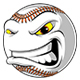 Angry Ball for Baseball - GraphicRiver Item for Sale