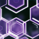 Purple Hexagonal Modern Background Loop - VideoHive Item for Sale