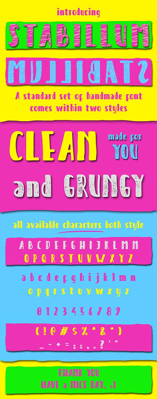 STABILLUM - Sans-Serif Fonts