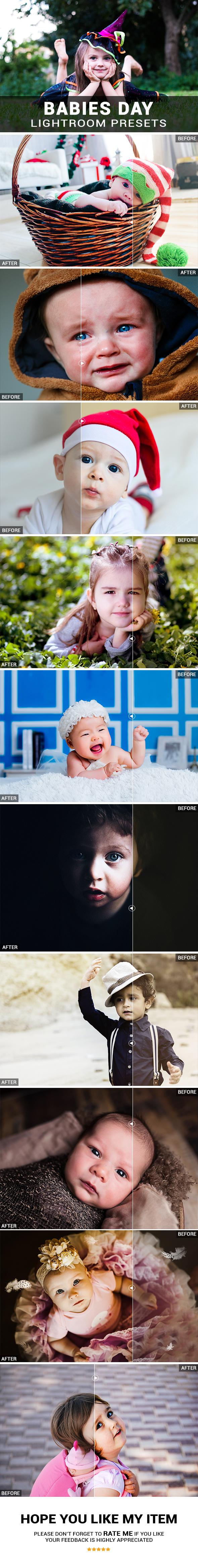 30 Babies Day Lightroom Presets - Lightroom Presets Add-ons