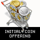 Initial Coin Offering Basket Trolley Concept  Renders - GraphicRiver Item for Sale