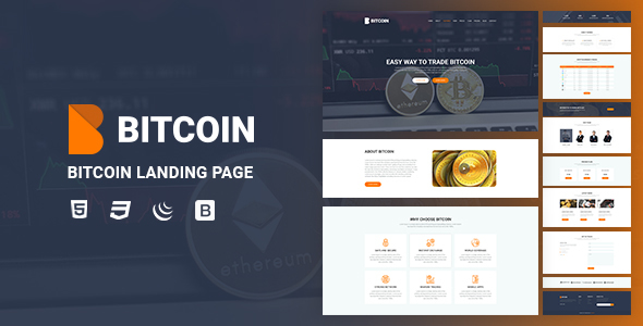Image of Bitcoin - Landing Page