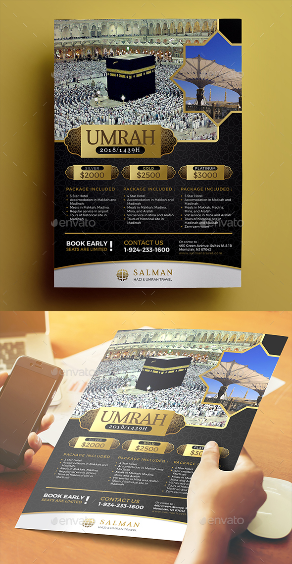 Umrah Flyer 03 - Commerce Flyers