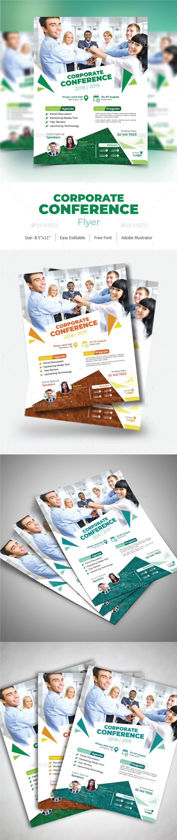 Corporate Conference Flyer - Corporate Flyers