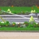 Watering a Flower Lawn in the Park - VideoHive Item for Sale