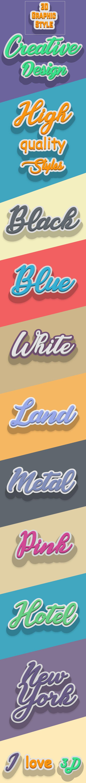 Graphic Style for Adobe Illustrator v1 - Styles Illustrator
