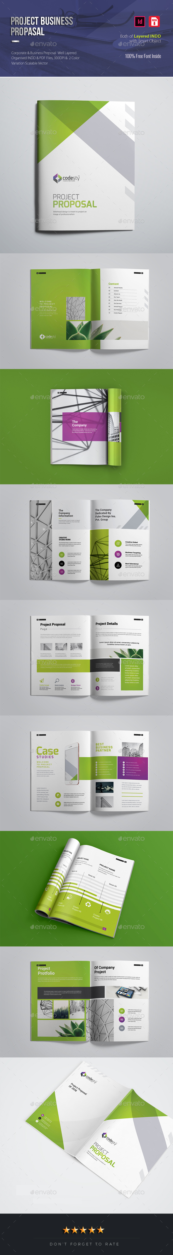 Project & Business Proposal - Proposals & Invoices Stationery