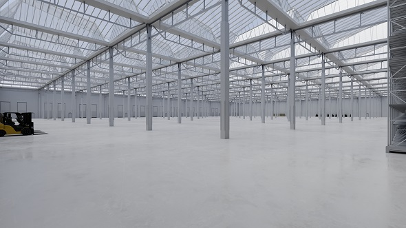 Industrial Building Interior 4 - 3DOcean Item for Sale