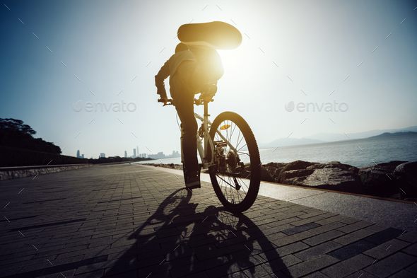 Riding to the City - Stock Photo - Images