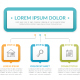Infographic Template with Three Steps - GraphicRiver Item for Sale