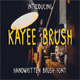 Kayee Brush Font - GraphicRiver Item for Sale