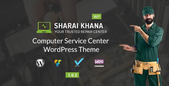 Image of Sharai Khana - Computer Service Center WordPress Theme