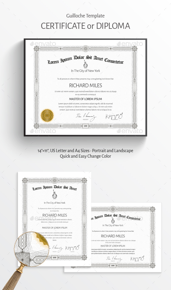 Certificate by ZEuS1898 | GraphicRiver