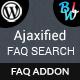 Ajaxified FAQ Search - Advanced FAQ Addon