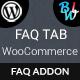FAQ Tab For WooCommerce - Advanced FAQ Addon
